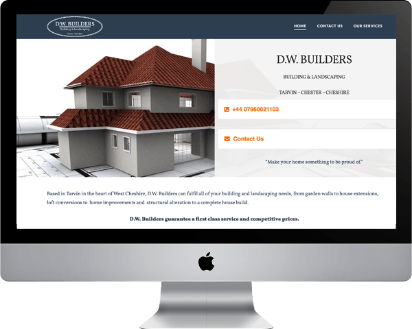 D.W. Builders Chester